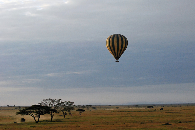 See the Serengeti from Above in a Hot Air Balloon