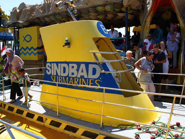 Explore the Red Sea on a Sinbad Submarine Under the Red Sea Tour