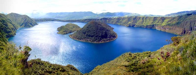Visit Cuicocha - The Lake in the Volcanic Crater